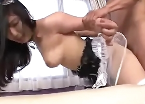 Asian maid, Chiharu, really wants cock in her vag - More at Javhd.net