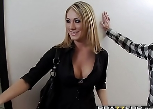 Big Tits at School -  Sassy Bitch scene starring Amber Ashlee coupled with Charles Dera