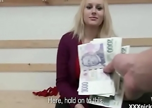 Amazing Public Dick Sucking For Cash With SLutty Teen Czech Girl 5