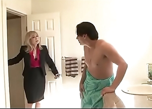 horny mom seduces son'_s friend - Watch Ornament 2 at FilthyGeek.com
