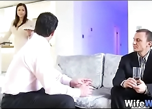 Under the table unearth suck by boss'_s cheating wife