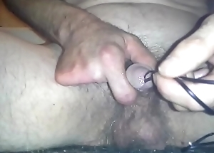 deep double wire insertion in knob