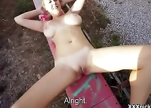 Public Blowjob With Euro Amateur Teen For Money In Genuine Street 27