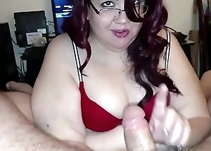 Sexy BBW Giving A Hot BlowJob POV