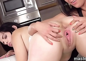 Kinky czech girl opens up her tight twat to the peculiar