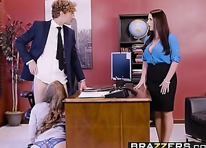 Big Tits at Work - Porn Logic scene starring Angela White, Lena Paul &amp_ Michael Vegas