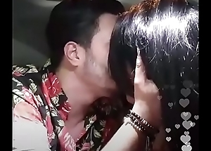 Instagram @tonycolombotv .... kissing his girlfriend respecting car live mms scandal
