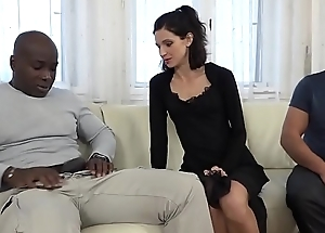 Cuckold Training Wife fucks black man in front of pinch pennies and pussy licked