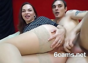 Beautiful young college unreserved loves anal sex