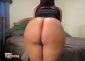 Big chubby ass in tiny thongs is shaking and pumping - Tubeputas