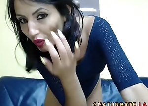 Beautiful Babe with Leotard and High Heels on Cam @ www.chaturbate.la