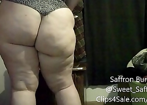 Sexy Redhead BBW Saffron Burke Squirting And Fetish Compilation