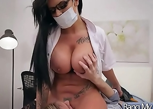 Horn-mad Patient (Candy Sexton) Come And Get Nailed At Doctor video-09