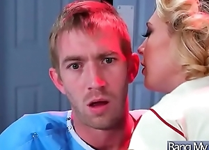 Horny Patient (Kagney Linn Karter) Come And Get Nailed At Doctor video-15