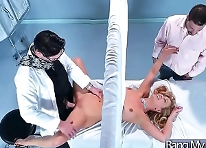 Horny Patient (Cherie Deville) Come Climb up Nailed At Doctor video-12
