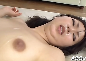 Naughty and wild oriental orgy