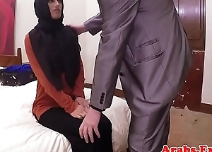 Amateur hijab arab spanked winning cockriding