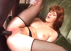 The slutty lady of the house loves to fuck with their way diabolical servant