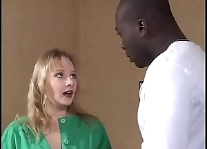 Young white girl brutalized by violent black guy